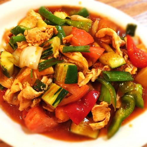 Pad Preaw Wan (Sweet and Sour)